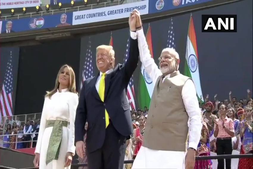 'America Loves, Respects India,' Says Trump In His Opening Remark At Motera Stadium