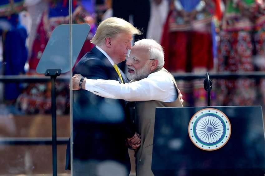 After A Rapturous Welcome In Ahmedabad, Trump To Wrap Up Business End In Delhi Today