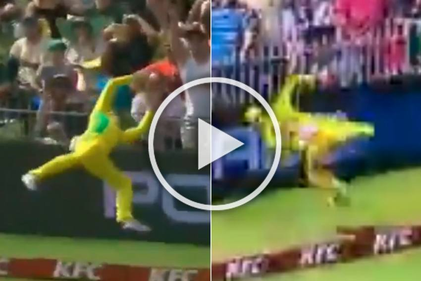 SA Vs AUS, 2nd T20I: This Is Just Unbelievable! Steve Smith's Superhuman Effort Converts Six To A Single - MUST WATCH
