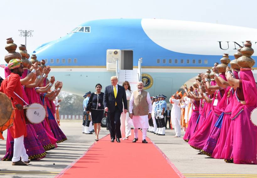Trump, Modi Begin 22-Km-Long 'India Roadshow' In Ahmedabad