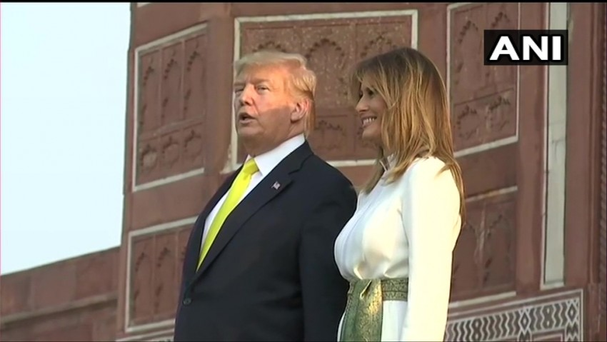 'Taj Mahal Inspires Awe,' Says US President Donald Trump After Visit
