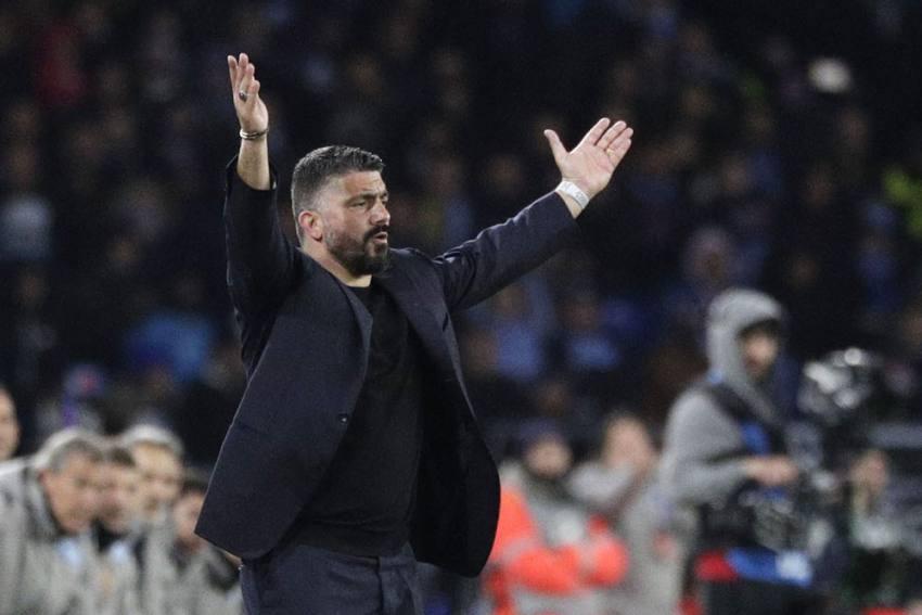 Barcelona 'Barely Tickled' Us: Napoli Coach Gennaro Gattuso