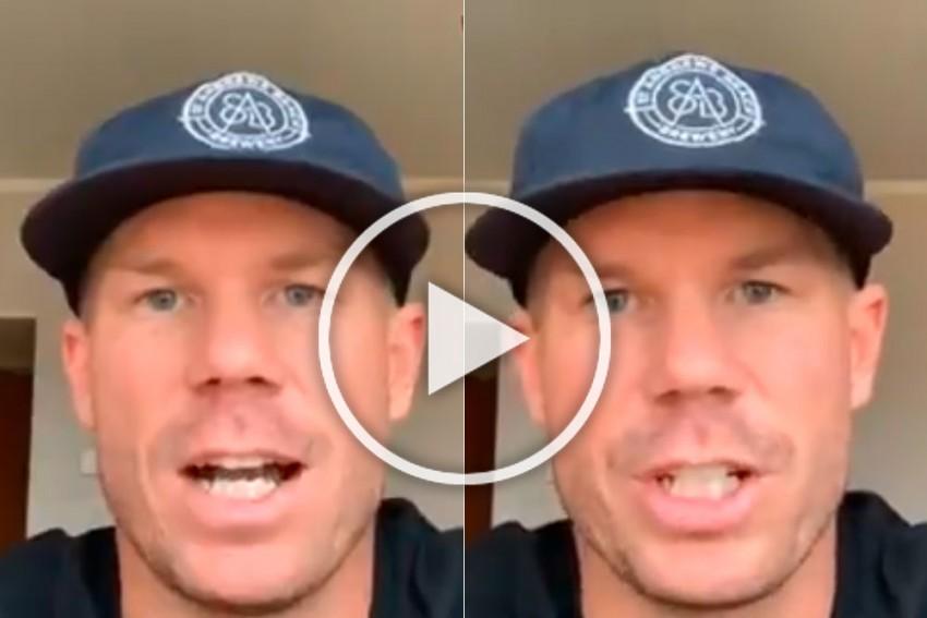 IPL 2020: David Warner Reinstated As SunRisers Hyderabad Captain; 'Thrilled' Aussie Star Shares Video Message