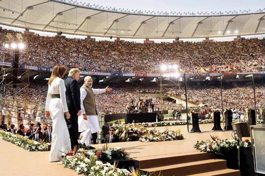 Glad To Oblige, Pardner: Trump Soaks In Modi's Welcome, India Basks In Nimbus Of US Power