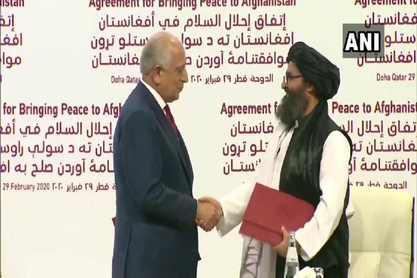 US, Taliban Sign Peace Deal Aimed At ending 18-year War In Afghanistan