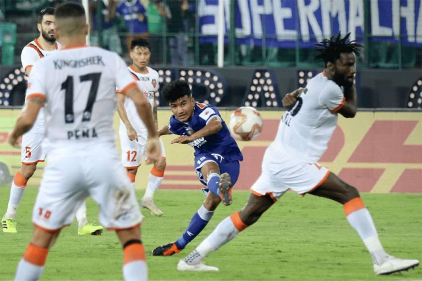 ISL Semi-Final Play-Off: Chennaiyin FC Stun FC Goa 4-1 In First Leg