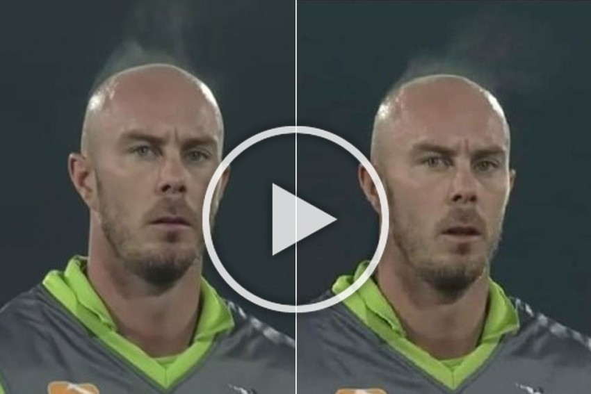 PSL 2020: Surreal And Creepy! Chris Lynn Emits Steam In Bizarre Video During Pakistan Super League Match - WATCH