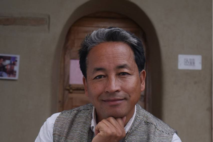 Let's Make Ladakh A Zone Of Peace: Ramon Magsaysay Award Winner Sonam Wangchuk