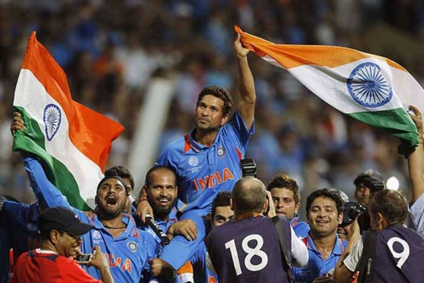 Sachin Tendulkar's 2011 World Cup Triumph Shortlisted For Laureus Sporting Moment Award