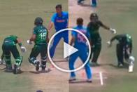 IND Vs PAK, ICC U-19 World Cup: Pakistan Captain Rohail Nazir Runs Teammate Out In Hilarious Mix Up - WATCH