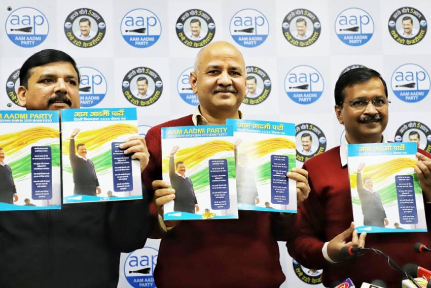 Delhi Polls: AAP Manifesto Promises Clean Water, 24-Hour Electricity And Deshbhakti Curriculum In Schools