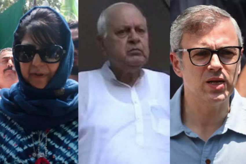 Three Former Jammu And Kashmir Chief Ministers Complete Six Months In Detention