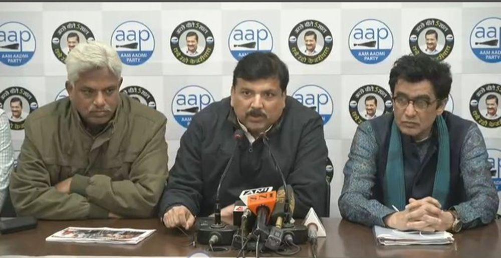 'DCP Should Wear Lotus On Shirt': AAP After Police Claim On Shaheen Bagh Shooter