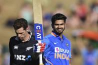 NZ Vs IND, 1st ODI: Majestic Shreyas Iyer Slams Maiden Century