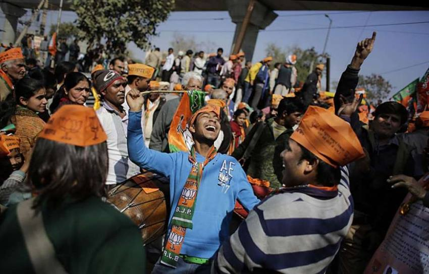 In Last Push, AAP, BJP And Congress To Hold Back-To-Back Rallies Today