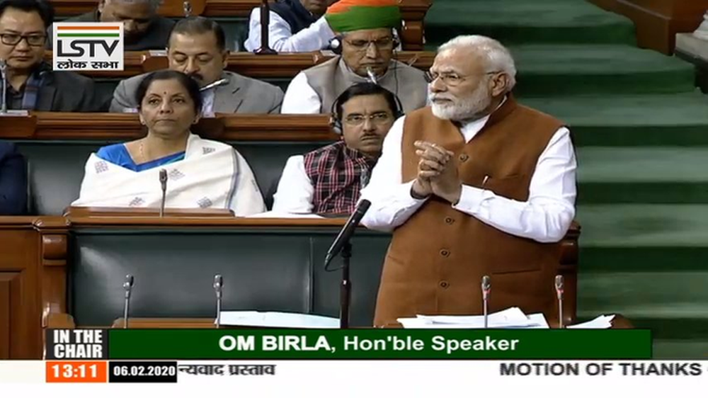 'Congress, Left Inciting People': PM Modi Hits Out At Opposition In Lok Sabha