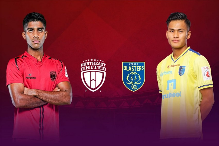 NorthEast United FC Vs Kerala Blasters FC Live Streaming: When And Where To Watch Indian Super League Football Match