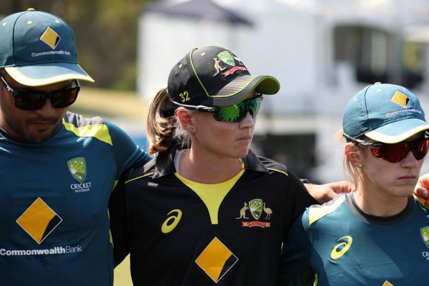 Australia Presented With ICC Women's Championship Trophy