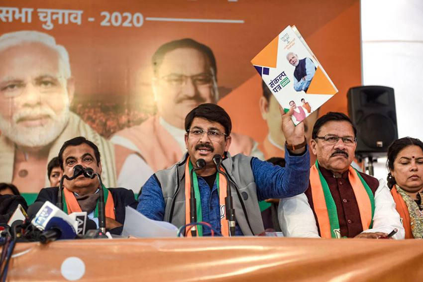 'Exit Polls Will Fail': Manoj Tiwari Says BJP Will Form Govt In Delhi With 48 Seats