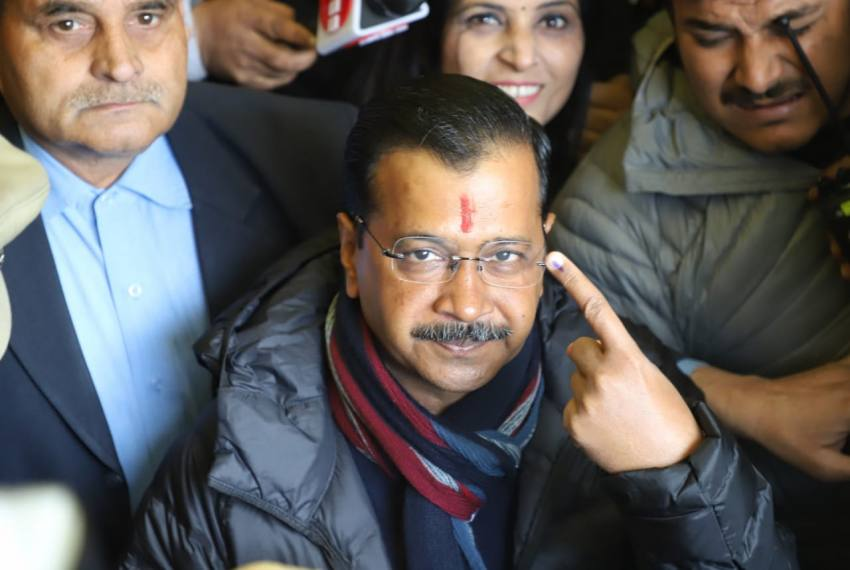 'Will Return': Arvind Kejriwal Says 'Hopeful To Retain Power For Third Time'
