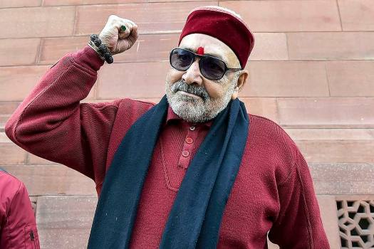 '...If Delhi Is To Be Saved From Islamic State': Giriraj Singh Urges People To Vote For BJP