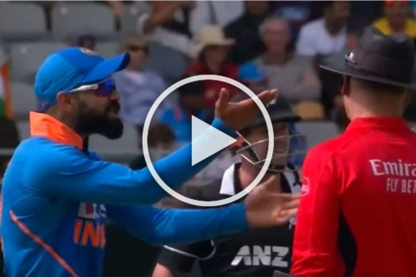 NZ Vs IND, 2nd ODI: Fans Defend India Captain As Furious Virat Kohli Lashes Out At 'Ridiculous' Umpiring - WATCH