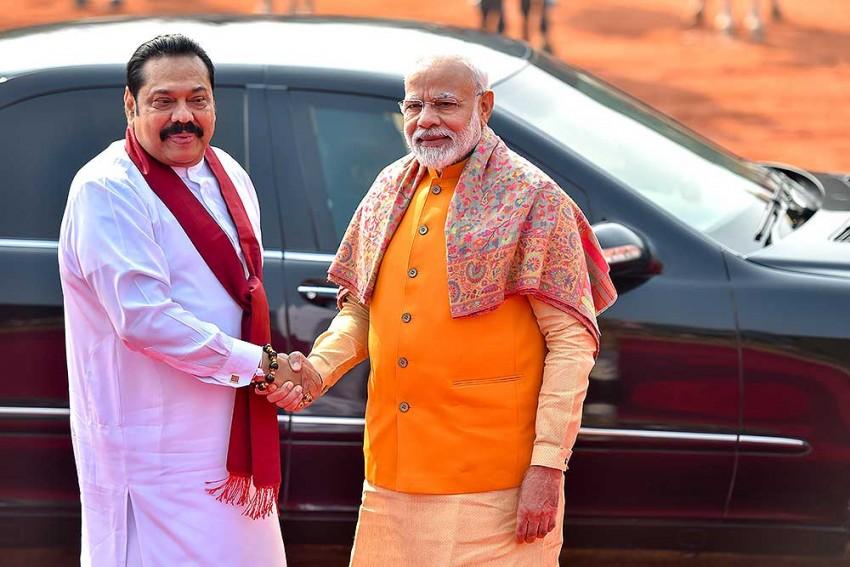 PM Modi Meets Mahinda Rajapaksa; Sri Lankan Tamils, Anti-Terrorism Among Bilateral Issues Discussed