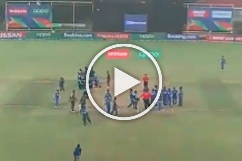 ICC U-19 World Cup Final: Ugly Scenes After Bangladesh Beat India, Winning Captain Apologies For Unwanted Aggression - VIDEOS