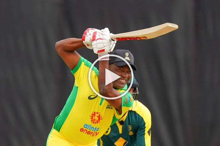 Brian Lara Shows Class Is Permanent As Cricket Royalty Raises Money For Bushfire Relief - WATCH