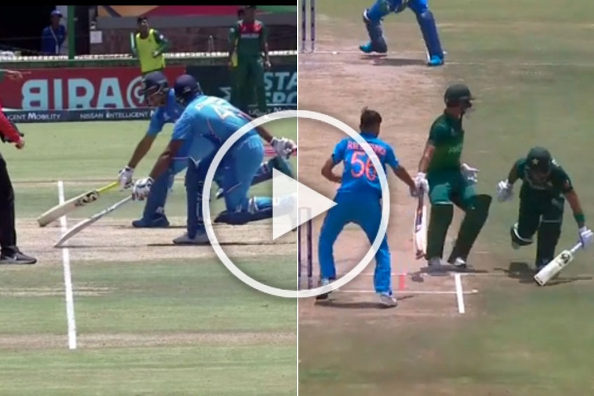 ICC U-19 Cricket World Cup Final: India's Turn To Have Two Batsmen At The Same End - WATCH Shocking Dismissal