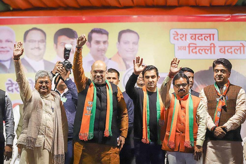 Exit Polls Not 'Exact': BJP Leaders After Closed-Door Meeting With Amit Shah