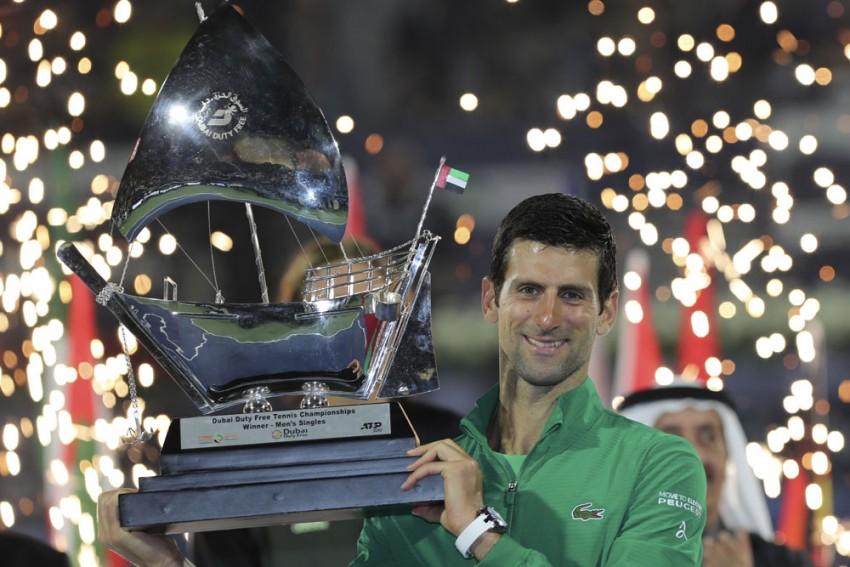 Novak Djokovic Continues Stunning Run, Beats Stefanos Tsitsipas For Fifth Dubai Title