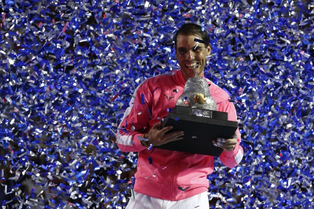 Mexican Open Rafael Nadal Wins 85th Atp Tour Title With Acapulco Success