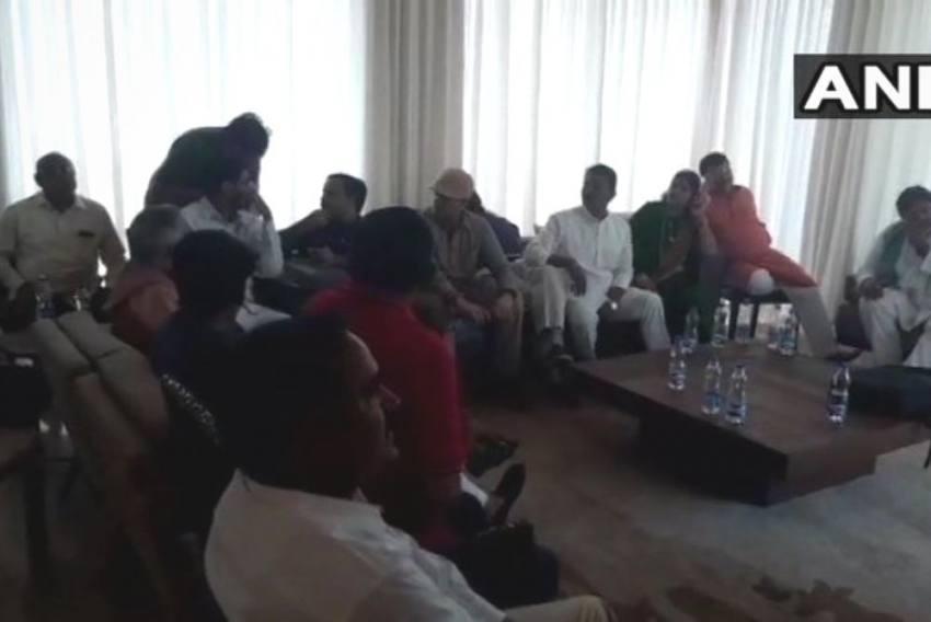 Rebel MP Congress MLAs Seek Police Protection In Bengaluru