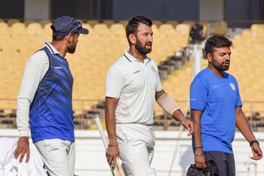 Ranji Trophy Final: No Respite For Cheteshwar Pujara, Fought Fever But Down With Back Problem