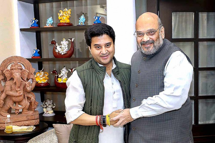 Image result for jyotiraditya scindia bjp