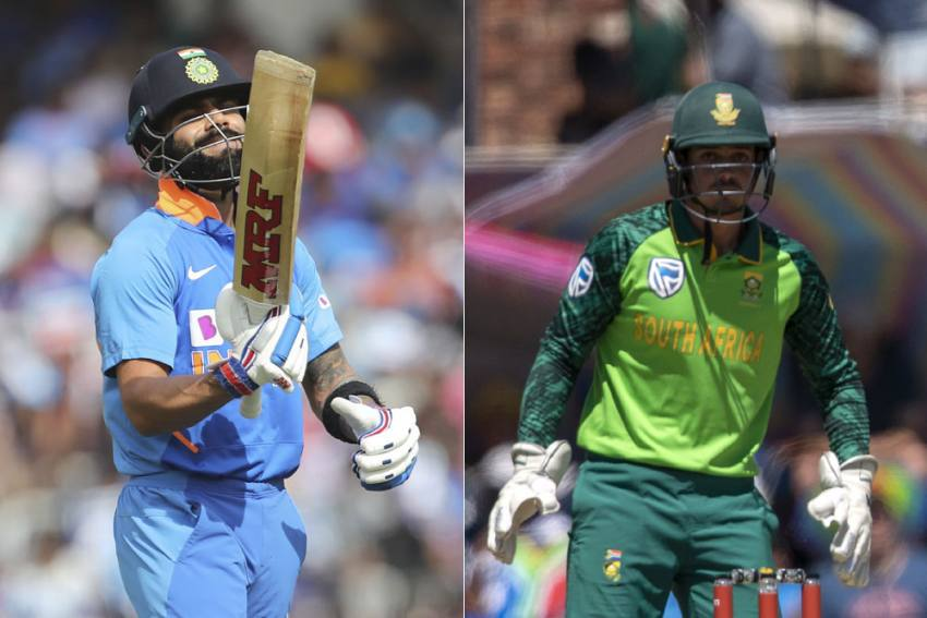 India Vs South Africa, 1st ODI Highlights: Rain Forces Dharamsala Match To Be Abandoned