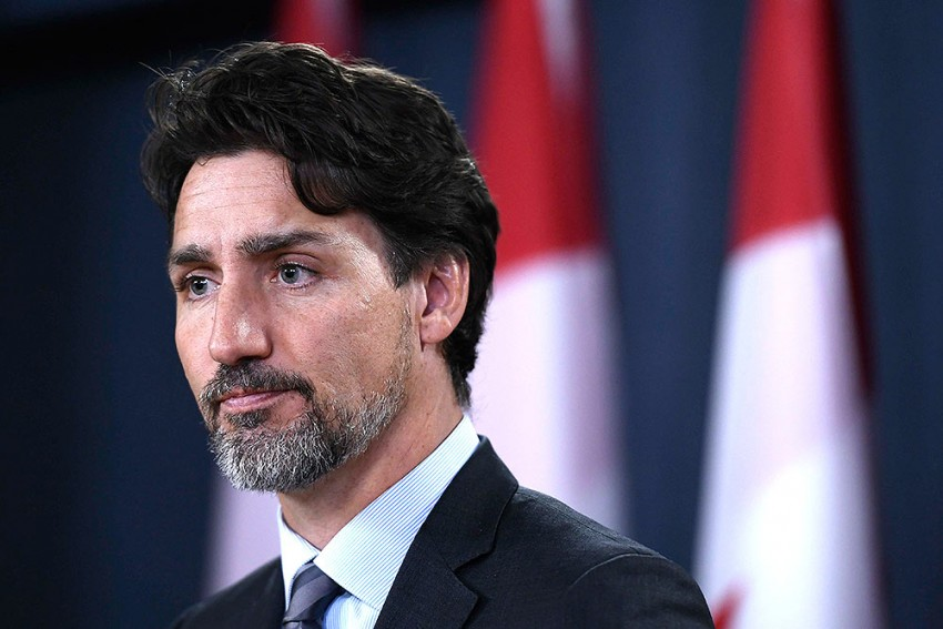 Canadian PM Justin Trudeau's Wife Tests Positive For Coronavirus