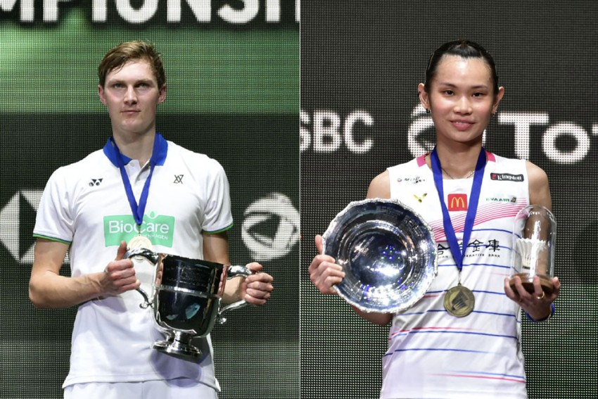 Victor Axelsen, Tai Tzu Ying Win All England Badminton Titles