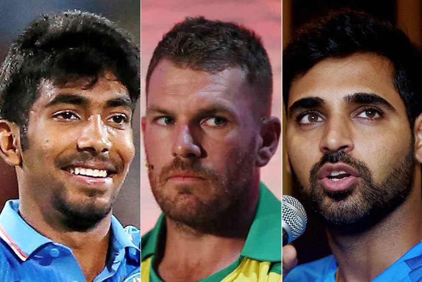 Australia Captain Aaron Finch Admits To Fear Of Bhuvneshwar Kumar, Jasprit Bumrah