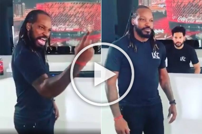 This Is Epic From 'Kaka': Yuvraj Singh Shares Hilarious Video Featuring With Chris Gayle - WATCH