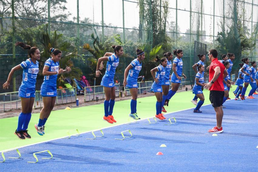 With Eye On Tokyo Olympics, Indian Women's Hockey Team Continues Training Despite COVID-19 Pandemic