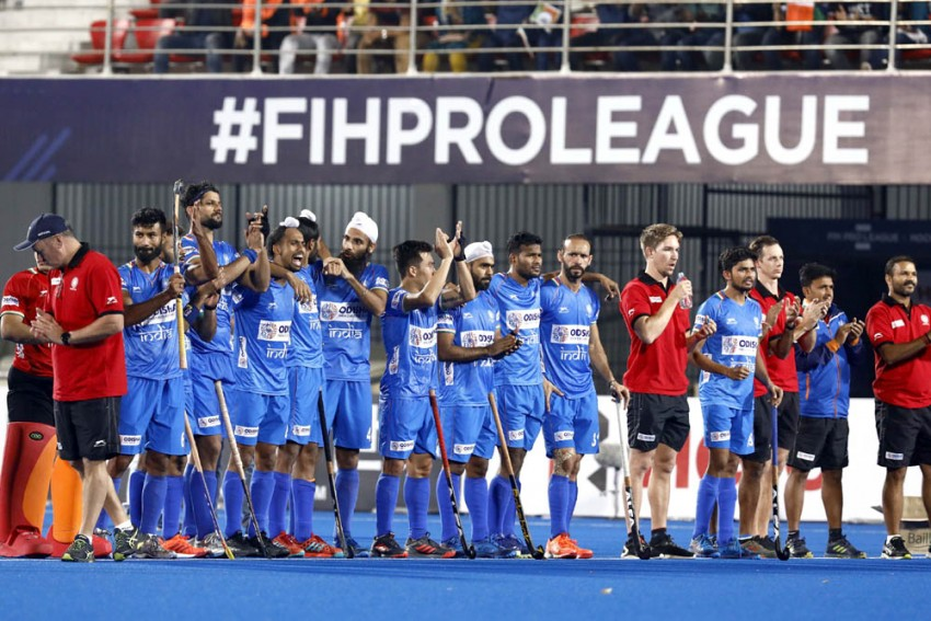 Indian Men Achieve All-Time High In FIH Hockey Rankings
