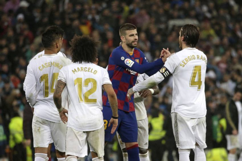 Worst Madrid? I'd Sign To Win Every Clasico Like That – Sergio Ramos Hits Back At Gerard Pique