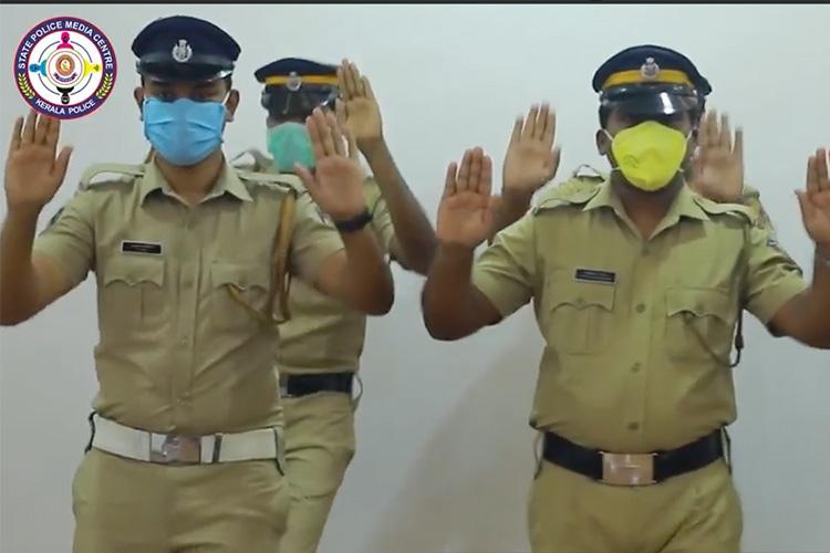 Watch: Kerala Police Dance In Awareness Video On Coronavirus Pandemic