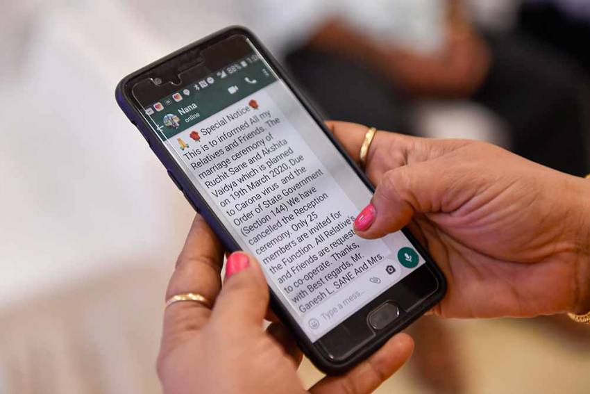 Govt Launches Coronavirus Helpdesk On WhatsApp; Available For All Users
