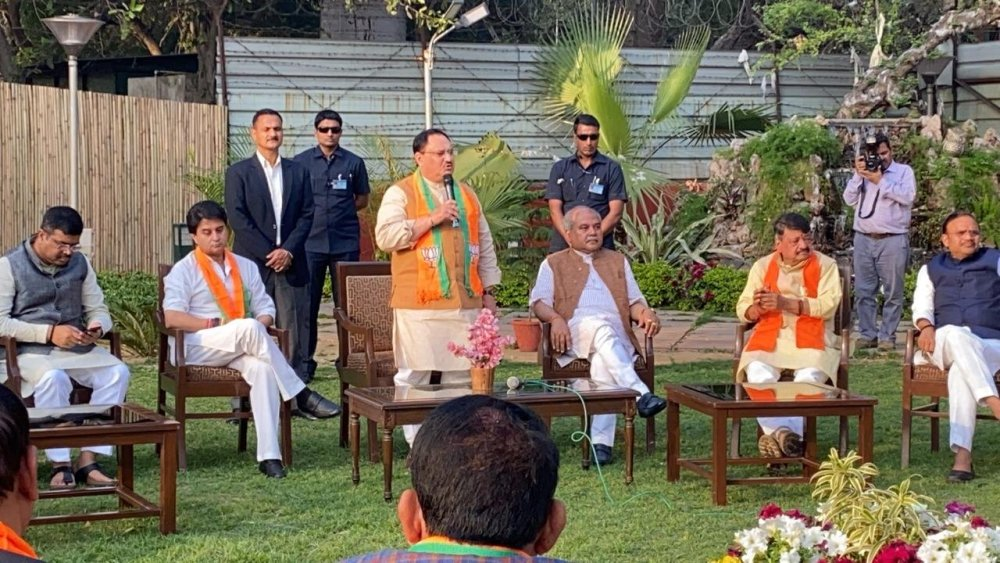 Madhya Pradesh: 22 Rebel Congress MLAs Join BJP; Scindia Says Everyone Will Get Tickets