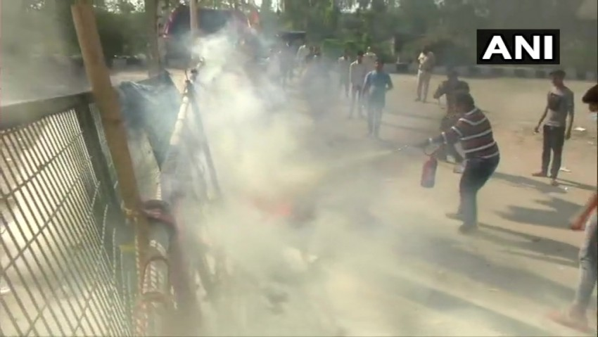 Petrol Bomb Hurled Near Shaheen Bagh Anti-CAA Protest Site