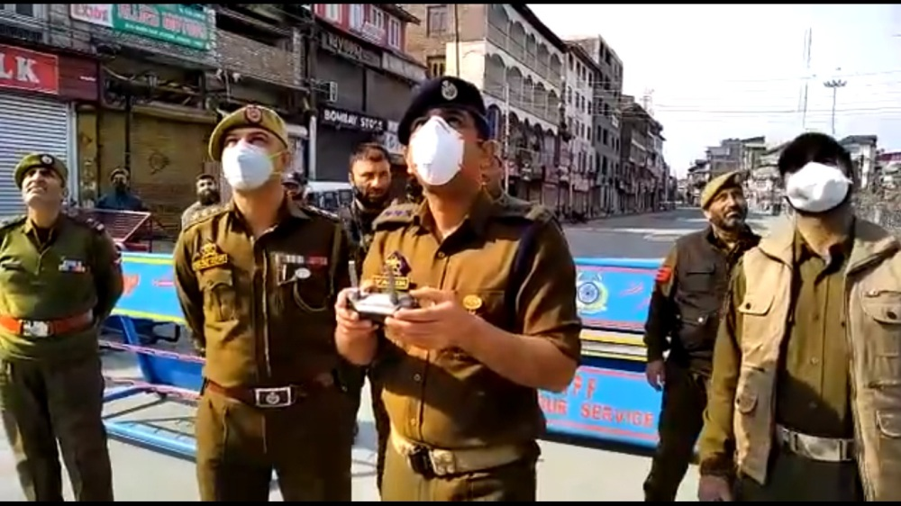 To Contain Coronavirus, J&K Police File FIR, Seize Vehicles And Use Drones To Monitor Movement Of People