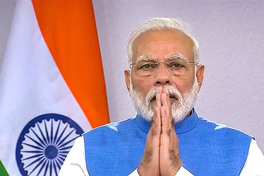 PM Modi To Address Nation At 8 PM Today, Will Discuss 'Vital Aspects Relating To Coronavirus'